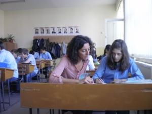 Imagen de una clase de español en Rumanía / Foto: Paulina Rodríguez