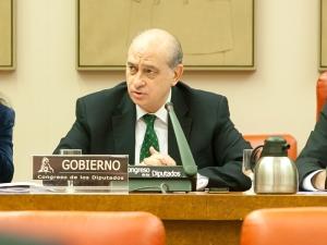 Comparecencia del ministro del Interior, Jorge Fernández Díaz, en la Comisión de Interior del Congreso de los Diputados / Foto: Ministerio del Interior