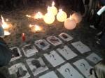 Acto de homenaje a los fallecidos el 6-F / Foto: @LOrtizGomez