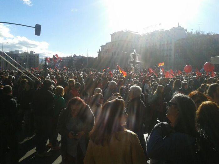 Marchas de la Dignidad / Foto: @juliobarsurco