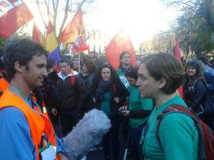 Stop Desahucios en las Marchas de la Dignidad / Foto: @juliobasurco
