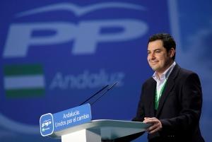 Juan Manuel Moreno, nuevo presidente del PP Andaluz