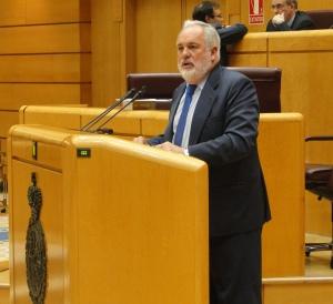 Arias Cañete en el Senado / Foto: Ministerio de Agricultura, Alimentación y Medio Ambiente
