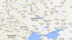 Mapa de Ucrania / Google Maps