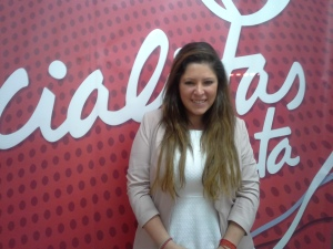 Marta Alcalde, secretaria de Política Internacional de JSE / Foto: @LOrtizGomez