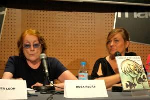 Grela Bravo en la presentación de 'Voces Prestadas' en FNAC / Foto: cedida por Grela Bravo