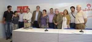 Presentación candidatura Pérez Tapias en PSM / Imagen: candidatura Pérez Tapias
