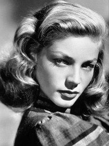 La actriz Lauren Bacall