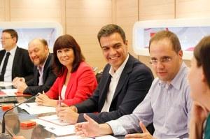 Reunión de la Ejecutiva socialista / Foto: Psoe.es
