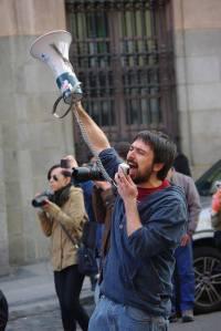 Ramón Espinar, Juventud Sin Futuro / Foto: cedida por Ramón Espinar