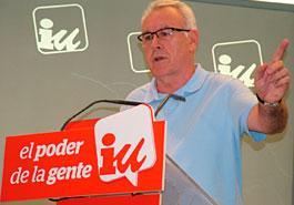 Cayo Lara anuncia que no se presentará a las primarias de IU / Foto: Izquierda Unida