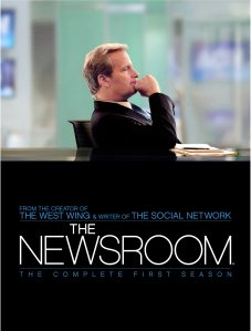 Cartel promocional del la primera temporada de The Newsroom