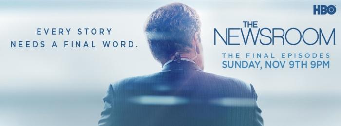 Cartel promocional del último episodio de The Newsroom