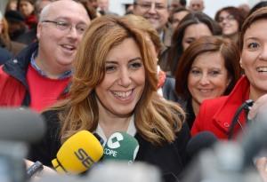 Susana Díaz, candidata del PSOE a las elecciones andaluzas / Foto: Junta de Andalucía