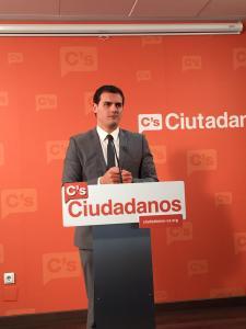 Ciudadanos, la formación que más crece en la encuesta de Metroscopia / Foto: Ciudadanos