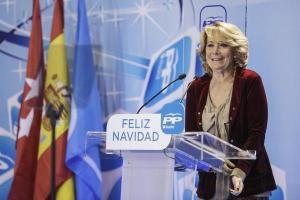 Esperanza Aguirre, candidata a la Alcaldía de Madrid / Foto: PP de Madrid