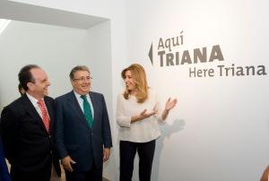 Susana Díaz, candidata del PSOE a la presidencia de la Junta