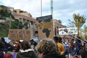 II Marcha por la dignidad en homenaje a los 15 fallecidos en la Tragedia del Tarajal Foto: @LOrtizGomez