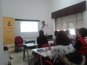 Presentacion de TIPI a organizaciones sociales en Ceuta / Foto: Paulina Rodríguez