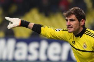 El portero Iker Casillas