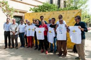 Preparativos de la Diada 2015 (Foto: Asamblea Nacional Catalana)