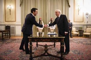 Tsipras toma posesión como primer ministro griego por segunda vez / Foto: @tsipras_eu
