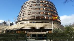Sede del Tribunal Constitucional en Madrid